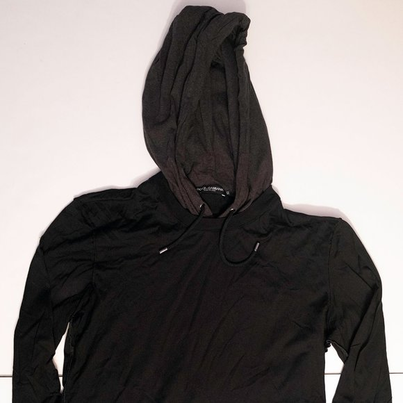 Dolce and Gabanna Light Weight Contrast Hoodie